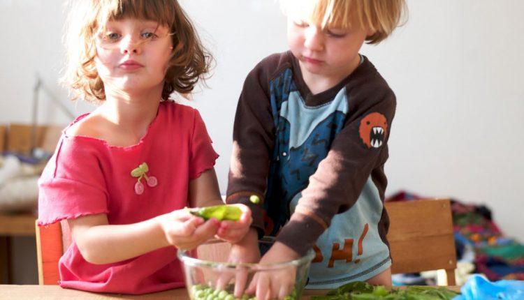 Children to reside the kitchen connoisseur