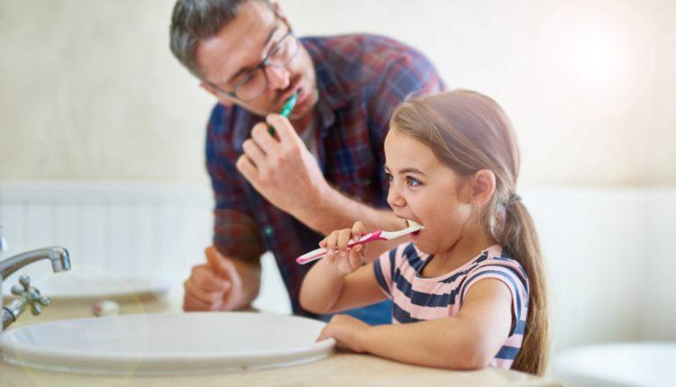 Child Good Oral Hygiene