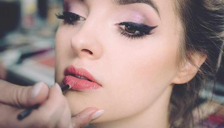 lip blushing cosmetic